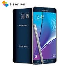 Samsung Galaxy Note 5 Refurbished-N920F Octa Core 5.7 pollici 4GB RAM 32GB ROM 16.0MP LTE 4G Android sbloccato Smartphone cellulare