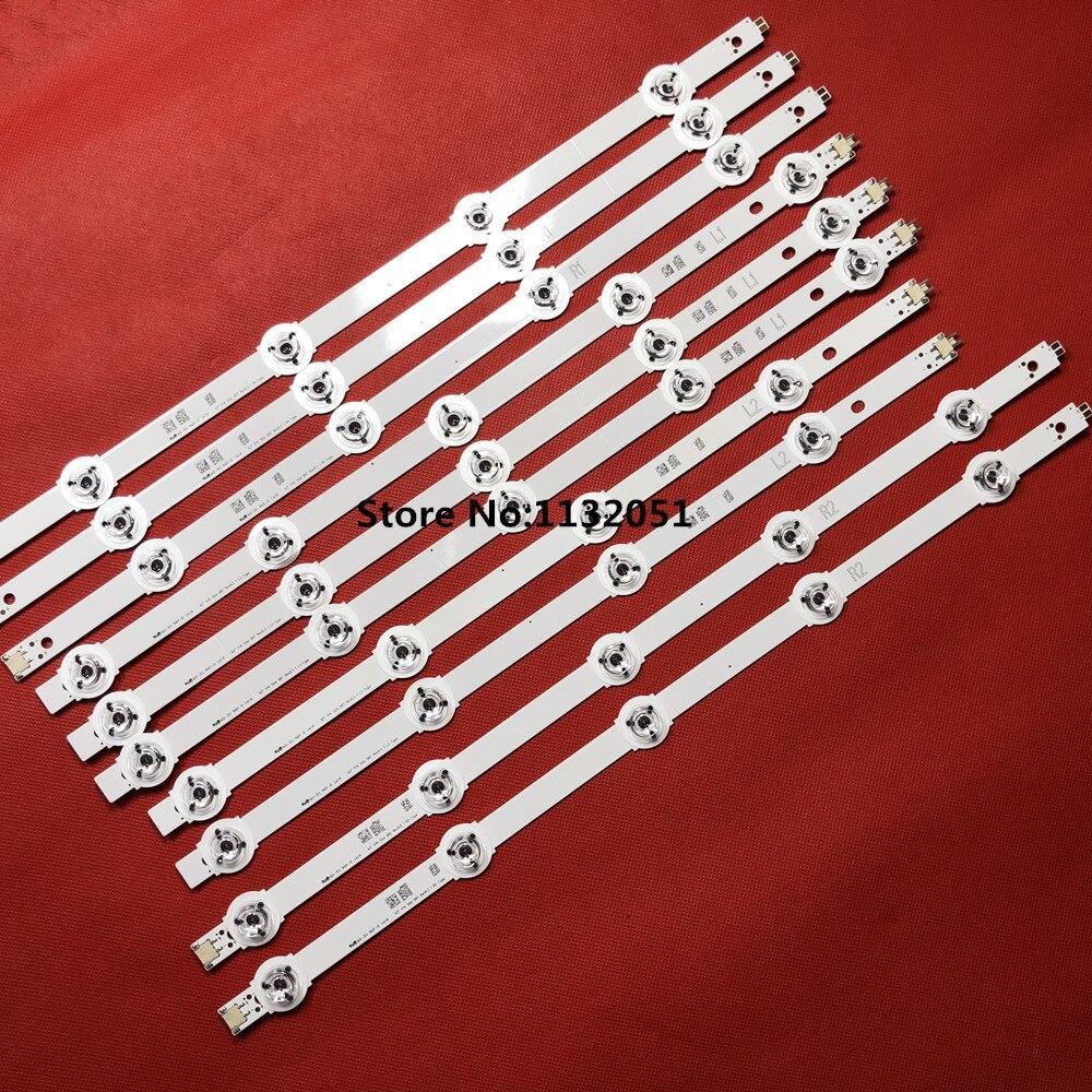 (New Kit)10 PCS LED For PANASONIC TX-42AS750E TX-42AS740B TX-42AS650E 6916L-1807A 6916L-1808A 6916L-1809A 6916L-1810A