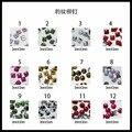 10000pcs/lot  New arrival leopard print nail stone for nail decoration
