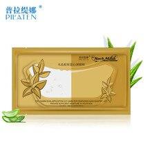 5pcs/Lot Crystal Collagen Neck Mask Moisturizing Neck Firming Collagen Masque Anti Wrinkle