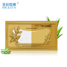 5pcs/Lot Crystal Collagen Neck Mask Moisturizing Neck Firming Collagen Masque Anti Wrinkle Personal Care Beauty Skin Nursing