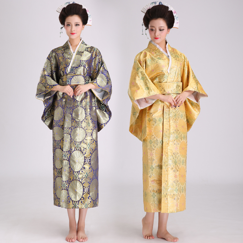 2017 limité haut à la mode femmes Disfraces Hmong vêtements danse Costumes japonais femme Sexy Kimono Cosplay uniforme scène Costume