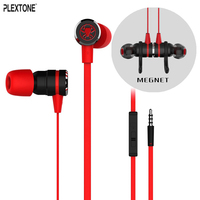 PLEXTONE G20 Stereo Headphone Gaming Earphone Magnet Headset With Microphone For Iphone For Samsung For Xiaomi