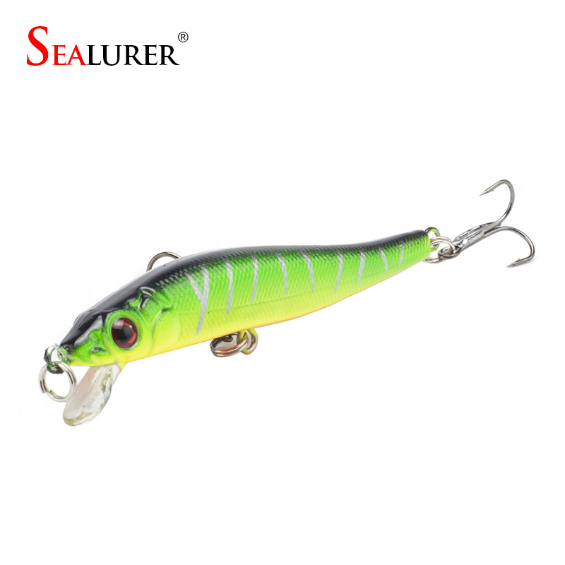 Brand Fishing Lure 8cm 5.7g Wobbler Pesca Minnow Hard Bait Isca Artificial Plastic Crankbait Fishing Tackle 5 Colors Available 1pcs diving minnow fishing lure 9cm 26g isca artificial hard bait pesca wobbler crankbait 6 hook 3d eyes fishing tackle ye 11