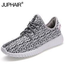 Jup/Мужская мальчиков новейшая мода скольжению вентиляции светло-серый кокосовое Повседневная модная обувь дыхание обувь Superstar ткань