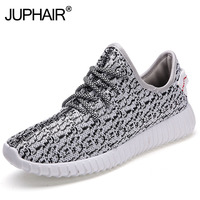 JUP Men S Boys Newest Fashion Slip Resistant Ventilation Light Grey Coconut Shoes Casual Fashion Breathing