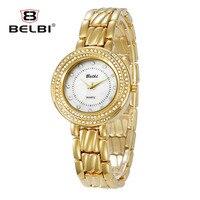 Новый ретро дамы Часы роскошный полный алмазов Булавки циферблат Для женщин кварцевые часы Водонепроницаемый Китай наручные часы бренд Best
