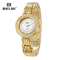 New Retro Ladies Watches Luxury Full Diamond Pin Dial Women Quartz Clock Waterproof China Wrist Watch Brand Best Specially Gift