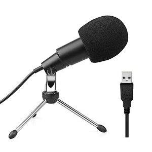 Image 4 - Fifine Plug & Play Home Studio a Condensatore Usb Microfono per Skype, Le Registrazioni per Youtube, Google Ricerca Vocale, giochi (K668)