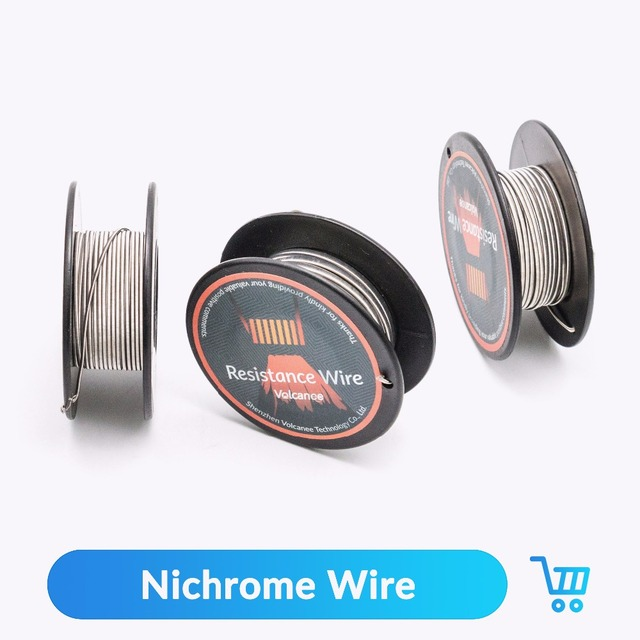Volcanee 5m/roll Ni80 Heating Wire Nichrome Clapton Coil For RDTA ...
