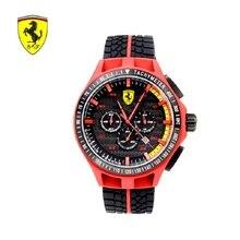 SCUDERIA FERRARI Brands Trendy Casual Black Dial Cool Watch Men