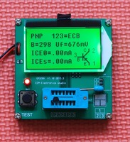 New GM328A LCD Component Tester Transistor Tester Diode Triode Capacitance LCR ESR Meter