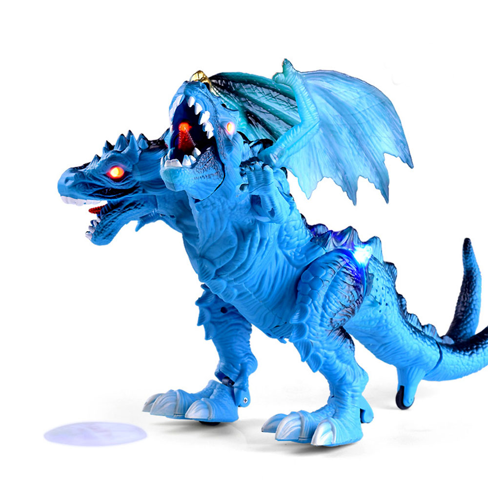 Kids Electric Animal Electric Dinosaur Model Toys PVC  Action Figure Assemble Dinosaur Toy For Children Birthday Gifts oyuncak brand new animals action figure toys mother wild horse 12cm length pvc figure model toy for gift collection kids school study