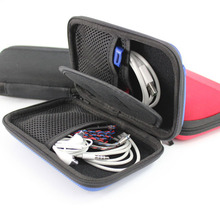 Data line USB Travel Organizer Case Charging For Earphone Package Zipper Bag Portable Zip Lock Digital travel Storage