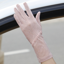 Anti-UV Lace Gloves for Women