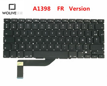 Genuine New FR Keyboard A1398 For Macbook Pro Retina 15″ 2012-2015 Year Language version FR Replacement