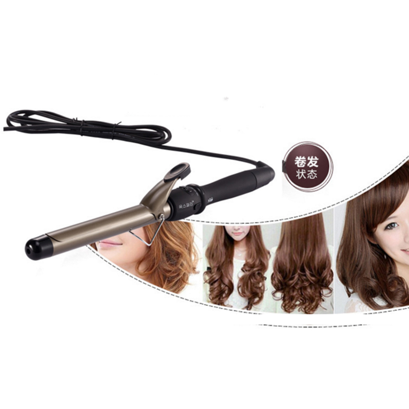 Hair Curler Salon Hair Curling Wand LED Display Curlers Professional Curler Roller Ceramic Styling Curler Wholesale ckeyin 9 31mm ceramic curling iron hair waver wave machine magic spiral hair curler roller curling wand hair styler styling tool