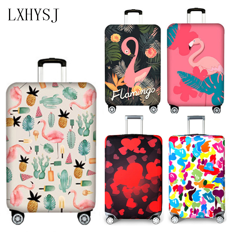 LXHYSJ Elasticity Luggage sets Suitcase dust cover Apply to 18-32 Trolley Protective sleeve Travel Accessor
