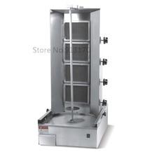 Газовый турецкий кебаб Machine_Gas вертикальный жарочный шкаф с 4 Levels_Shearman машина для приготовления кебаба