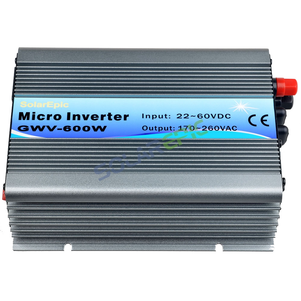 MPPT Grid Tie Inverter DC22-60V to AC110V or 220V Pure Sine Wave Inverter Use For 24V/36V Solar Panel 50Hz/60Hz CE