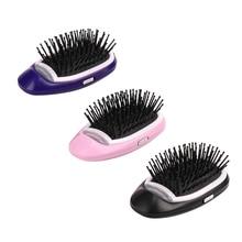 3colour Portable Negative Ion Anti-static Hair Salon Loss Vibration Scalp Massage Comb Str