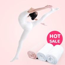 Теплые балетные колготки для детей и подростков колготки для танцев для девочек, детские нейлоновые леггинсы для гимнастики 80D/90D/800D