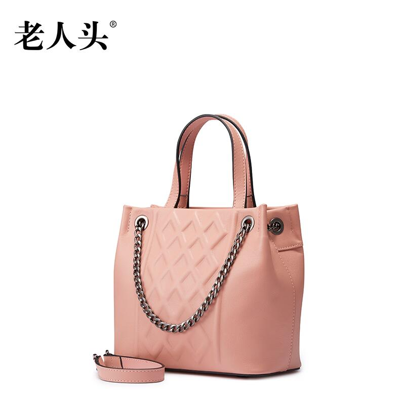 LAORENTOU high quality luxury fashion brand handbag diagonal package 2016 new counter genuine leather bag famous