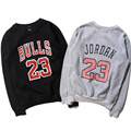Jordan Sweatshirts Number 23 Basketball Baseball Clothes Jersey Hoodies O-Neck Jordan Sweatshirts