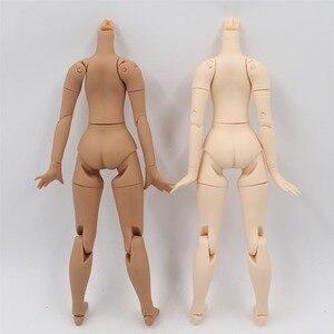 Image 4 - Blyth הבובה קפוא צעצוע גוף קטן חזה משותף גוף azone גוף לבן עור כהה עור טבעי עור לdiy אישית בובה