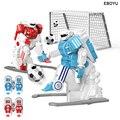 2 pçs * eboyu 1902b 2.4 ghz rc robô de futebol brinquedo divertido esporte bola jogos dois robôs de futebol rc brinquedos para crianças rc robô