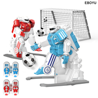 2pcs * EBOYU 1902B 2.4GHz RC Football Robot Toy Fun Sport Ball Games Two RC Soccer Robots Toys for Kids RC Robot