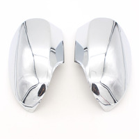 Dongzhen Auto Car Styling Side Mirror Cover Rearview Mirror Car Cover Trim ABS Chrome Fit For