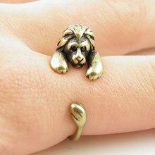 Минимальное 1 шт. кольцо в стиле панк с изображением Льва, кольцо в виде животного, ювелирные изделия, кольца, удобное кольцо в виде льва для мужчин и женщин, подарок
