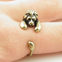 Min 1PC Punk  Lion Ring  animal ring Jewelry Rings Comfortable Lucky Animal Ring For Men Women Gift