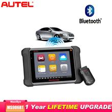 цена на Autel OBD2 Scanner Diagnostic Tool Car Diagnostic Maxisys MS906BT/DS808K Key Programmer Automotive Scanner Better to launch x431