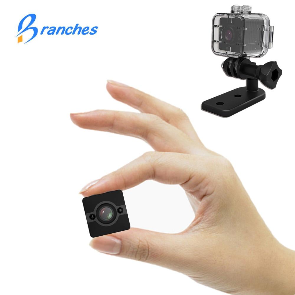 SQ12 HD 1080P Mini Camera Night Vision SQ11 Mini Camcorder Sport Outdoor DV Voice Video Recorder Action Waterproof Camera