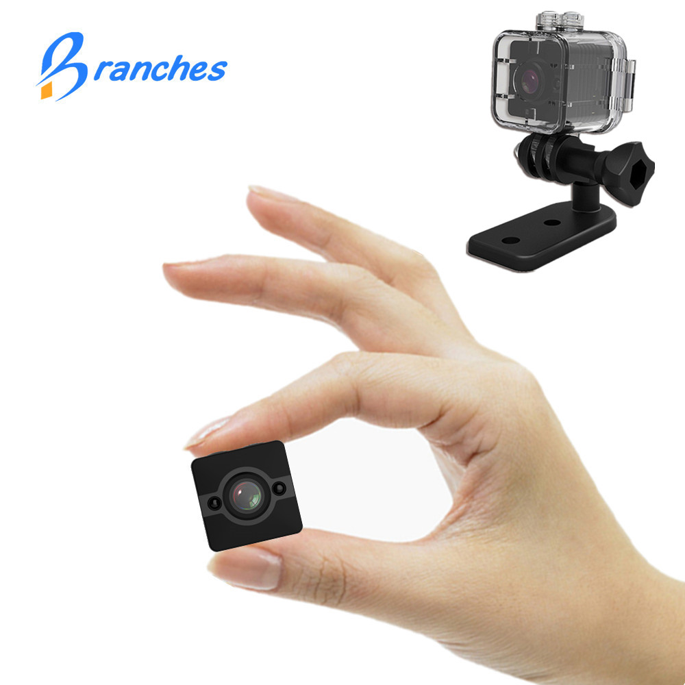 SQ12 HD 1080P Mini Camera Night Vision SQ11 Mini Camcorder Sport Outdoor DV Voice Video Recorder Action Waterproof Camera