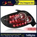 Car Styling luzes da cauda para Peugeot 206 lanterna CONDUZIU A Lâmpada de Cauda traseira tronco tampa da lâmpada drl + sinal + freio + reverso