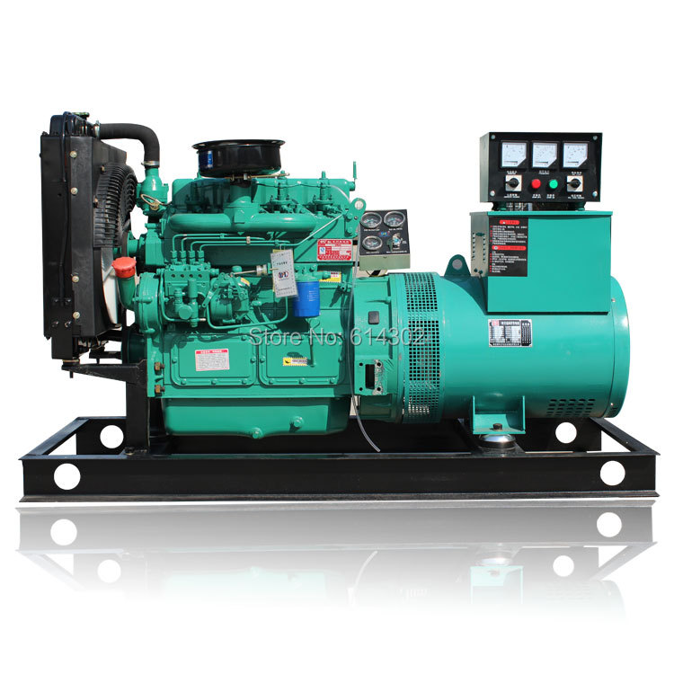 weichai Ricardo 30kw diesel generator with K4100D diesel engine and brush alternator/diesel generator for power недорго, оригинальная цена