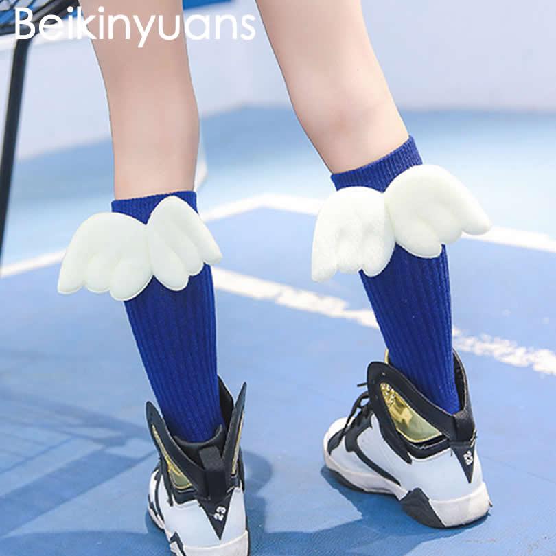 Otroške nogavice na kolenih, ustvarjalne roke, krila Pomladni dan Otroške nogavice Baby Boy Girls Toplejše otroška oblačila
