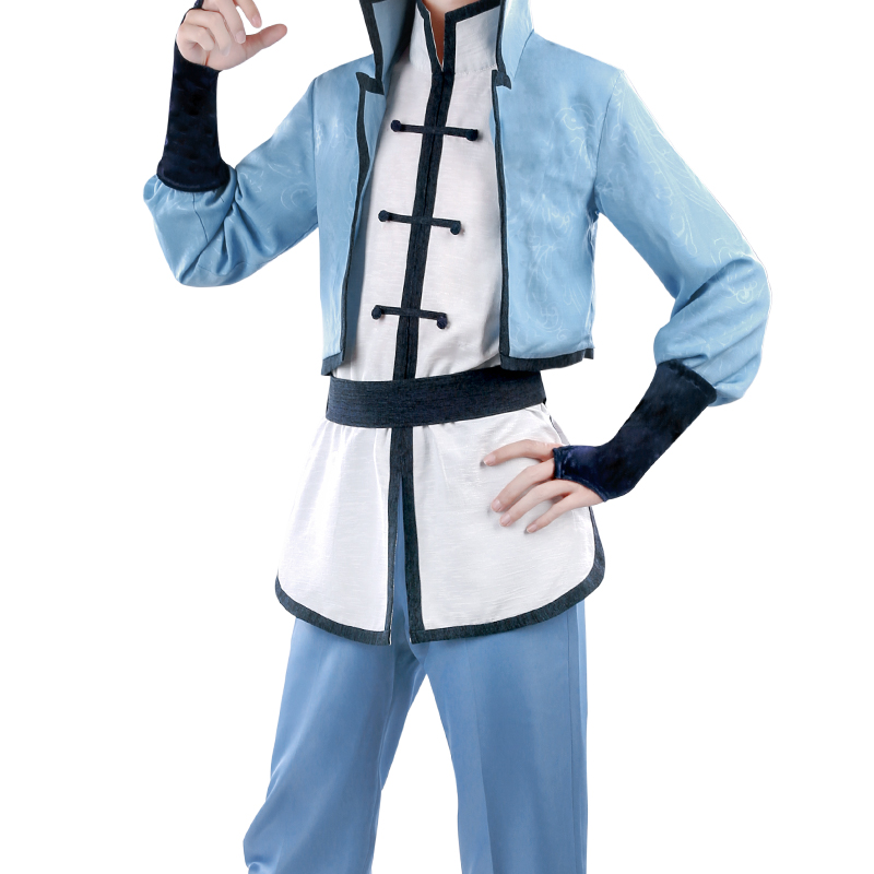 Spiritpact Anime Cosplay Yang Jing hua cosplay costume priest set China ancient costume