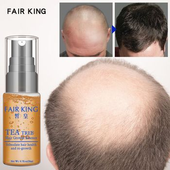 Tea Tree Hair Growth Essence Hair Loss Products Essential Oil Liquid Treatment Preventing Hair Loss Hair Care Products 20ml