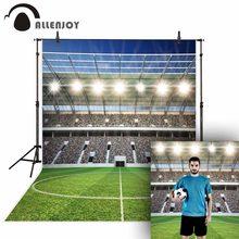 Allenjoy – arrière-plan pour photographie de stade de compétition, de Football, de pelouse