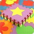 10 pçs/set Crianças Tapete Puzzle de Espuma Eva Tapetes Para Crianças Rastejando Desenvolvimento Tapetes Tapete Divisão Conjunta das Crianças Puzzle