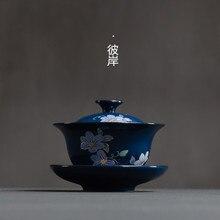 Чайный сервиз из керамики gongfu чайная посуда из керамики и фарфора из Чайная посуда чайное изделие