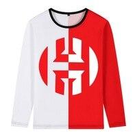 2019 harden Jersey double color T shirt Men long sleeve shirt for houston fans gift