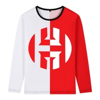 2019 harden Jersey double color T shirt Men long sleeve shirt for houston fans gift