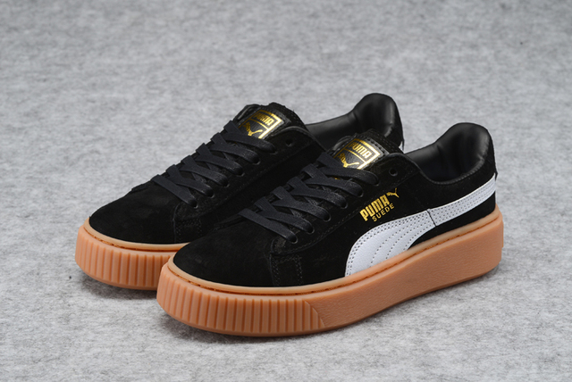 New Arrival PUMA rihanna Suede Platform creeper Men s shoes Breathable  Sneakers Badminton Shoes 5725448dd