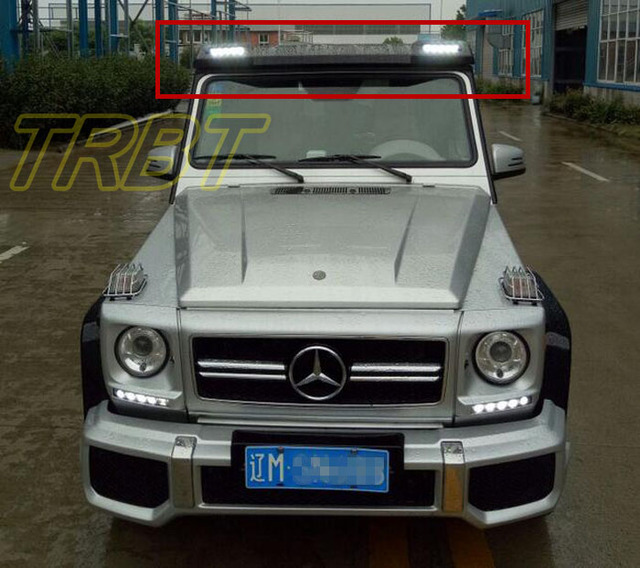 G55 Roof Spoiler With LED Light G55 BRABUS Wing G320 G350