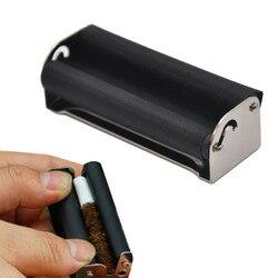 Metalowa maszynka do papierosów wspólna maszyna rolkowa rozmiar 70mm tępy szybki cygaro Rolling papieros prosta maszyna do robienia papierosów